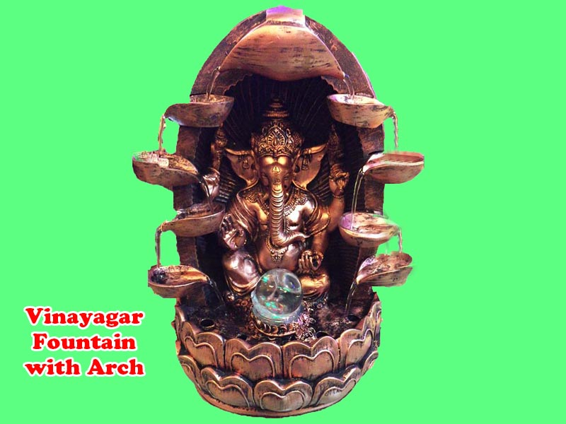 Vinayagar Fountain with Arch